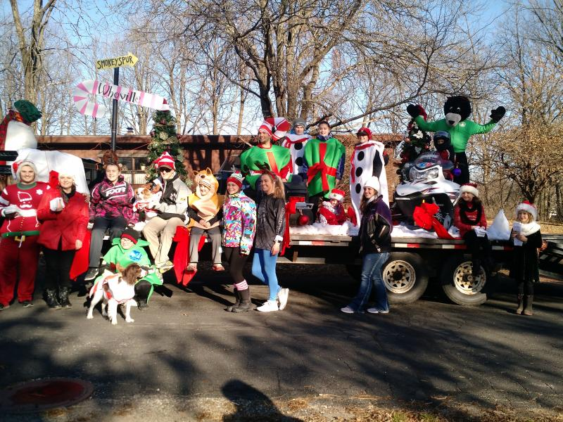 Our Elves at the Iola Lioness Christmas Parade
